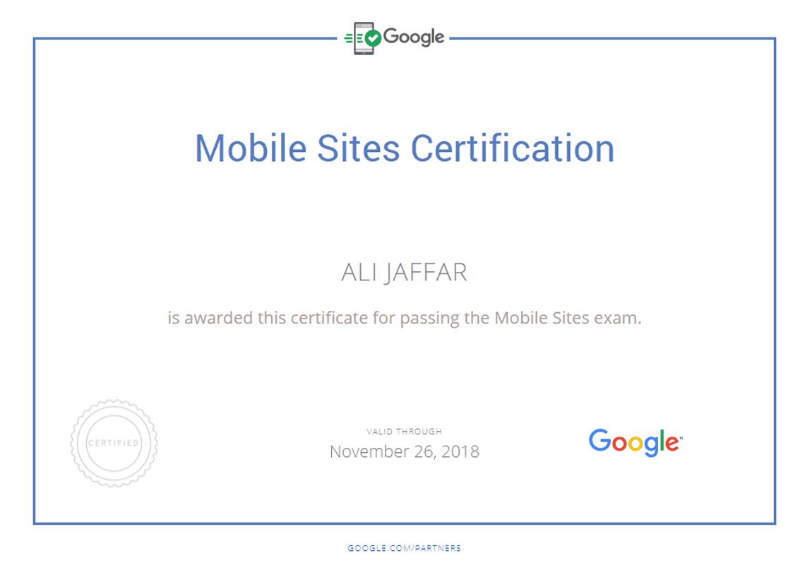 Mobile Website Design Expert - Google Partners Certified