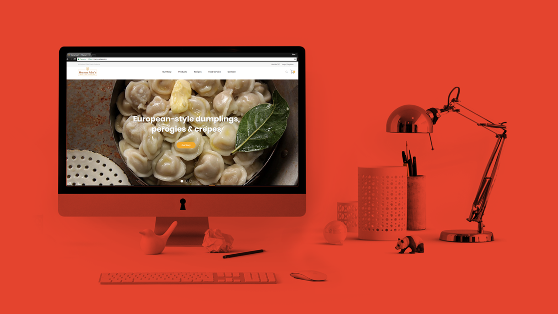 E-Commerce Website Design & Development for a New Pasta Brand