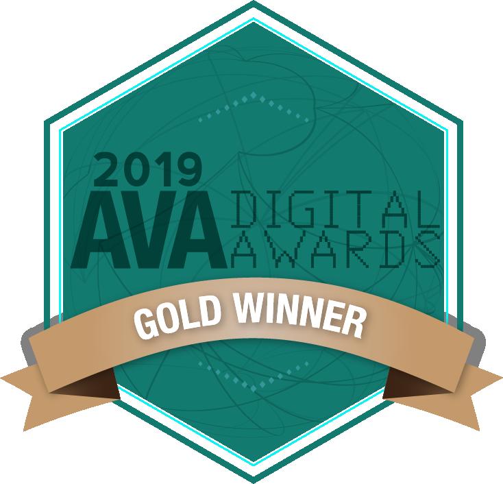 Mobile Website Information Experience Award (Gold, AVA Digital)