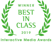 Best In Class Interactive Media Award in the Nonprofit category