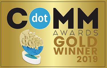 2019 dotComm Awards-Gold in Pro bono websites
